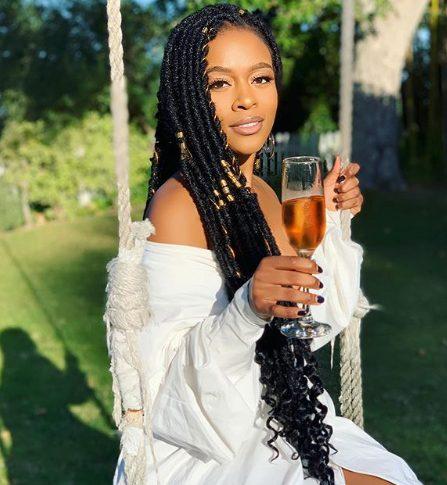 Nomzamo Mbatha eulogizes self on birthday
