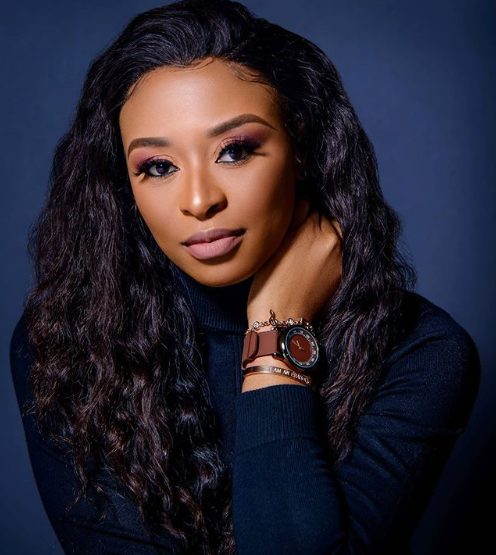 DJ Zinhle reacts to flower bouquet received from secret admirer