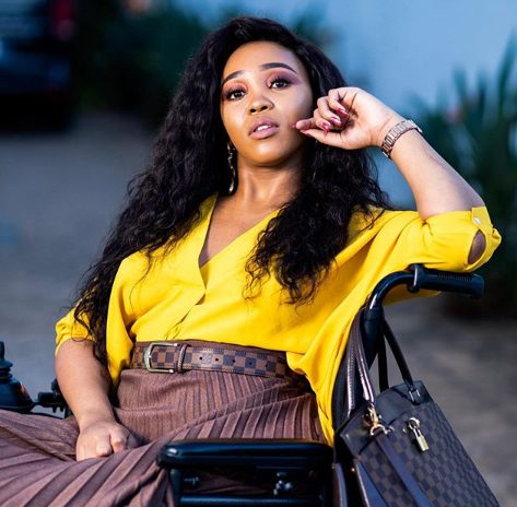 Sbahle opens up about 'reclaiming' herself one year after car crash