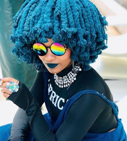 Moonchild Sanelly slams critics over her booty flash on TV