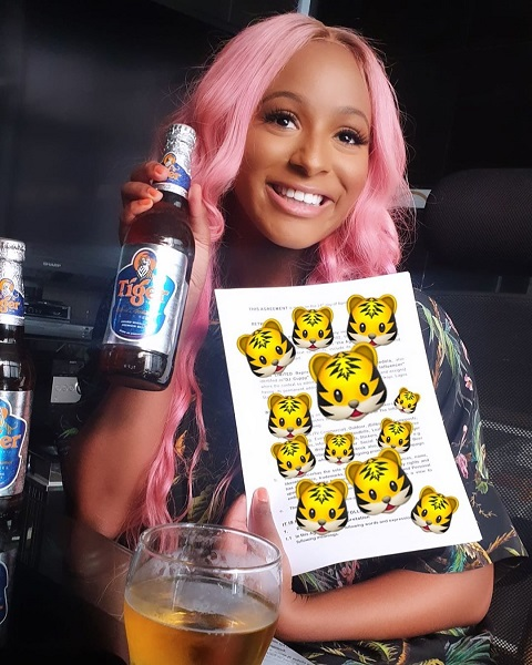 Se reason why DJ Cuppy Broke Down In Tears Live on IG