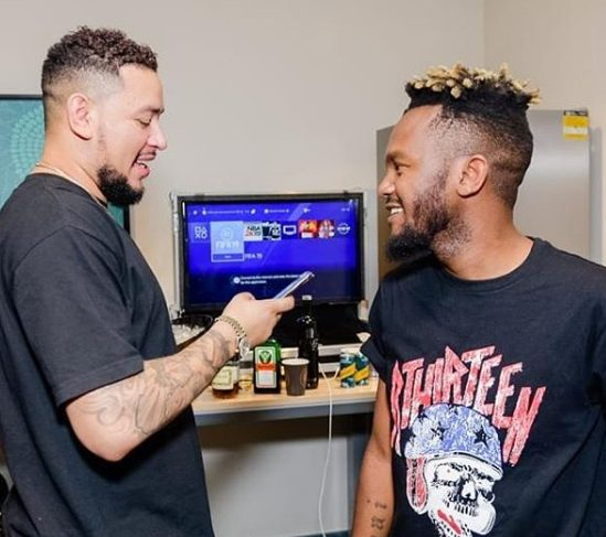 Kwesta receives first birthday gift from AKA | Watch