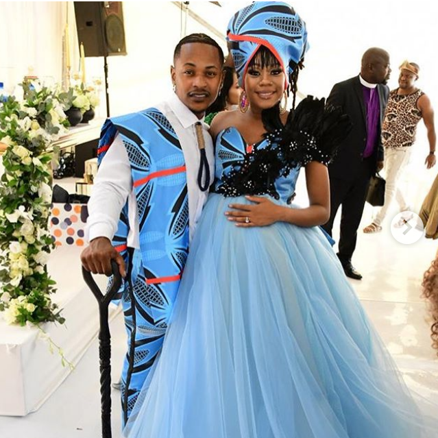 Ugly Wedding: Photos From Priddy Ugly And Bontle Modiselle's Traditional