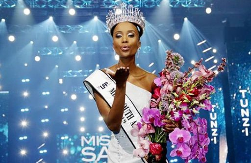 Zozibini Tunzi on mission to break beauty stereotypes