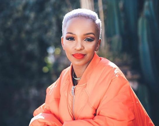 Nandi Madida reveals daughter's face and name on newly launched app