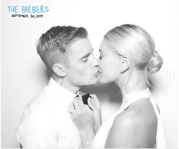 'My bride is fire' – Justin Bieber gushes over his wife Hailey as he shares lovely photos from their lavish wedding ceremon