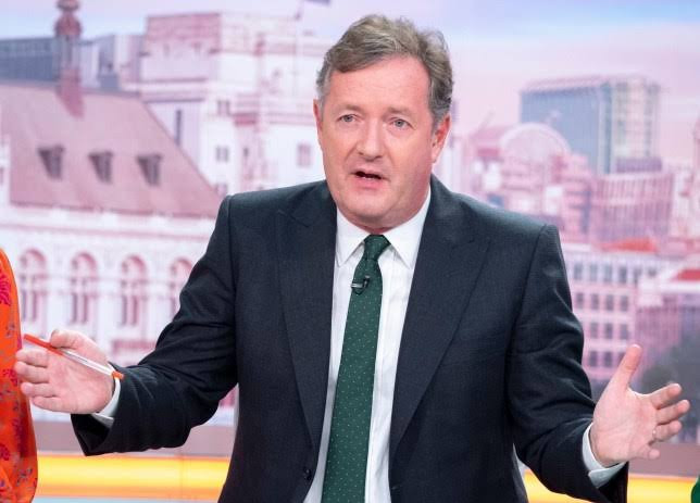 Piers Morgan begs fans to sign petition to keep him in his TV job days after online petition