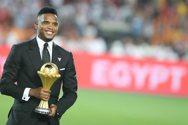 African players don't get the recognition they deserve at the top level – Cameroonian football legend, Samuel Eto'o