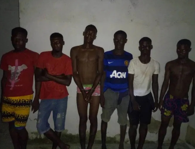 Lagos police release list of six captured cultists who killed Fashola (Photo)