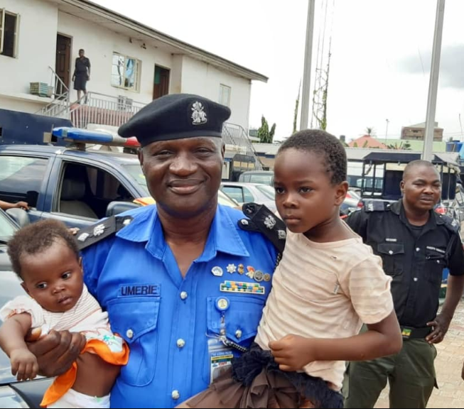 Police rescue three children from child stealing syndicate in Anambra state and reunite two with their parents