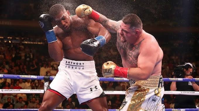 The 'little fat pig' Andy Ruiz Jr who murdered every doughnut in California will beat Anthony Joshua again- Tyson Fury says ahead of rematch