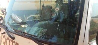 Gunmen allegedly dressed in NYSC uniform attacks FC Ifeanyi Ubah team bus in Kogi (photos)