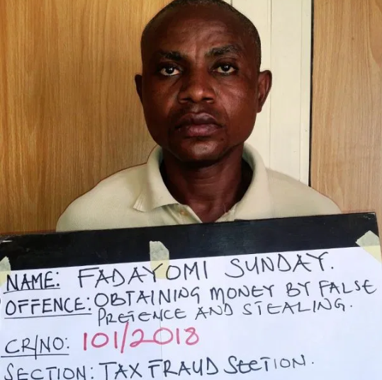 Former banker, Sunday Fadayomi jailed six years for stealing N11m (Photo)