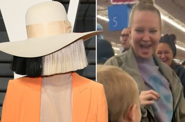 Sia takes off her famous wig to pay for everyone's groceries at Walmart, tells them her name is Cici and she won a jackpot
