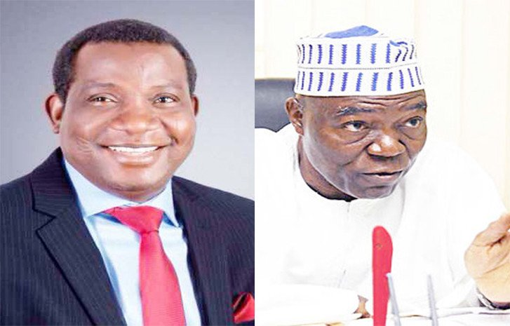 Your daughter who was my classmate should have contested against me, not you – Governor Lalong mocks PDP candidate, Gen. Useni