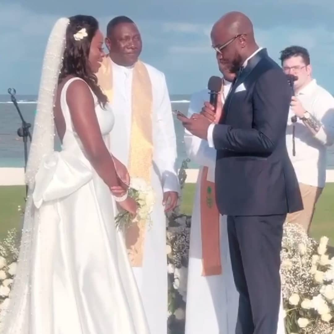 First photos and videos from Governor Rotimi Akeredolu's daughter's wedding in Mauritius