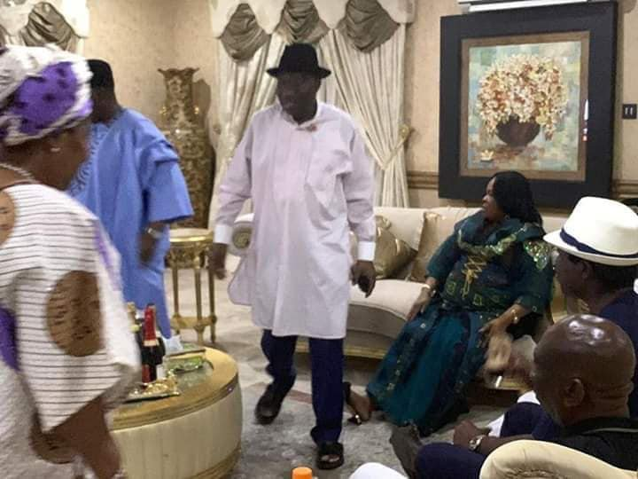Photos: Ex-President Goodluck Jonathan and wife Patience hosts APC governors and members in Otuoke