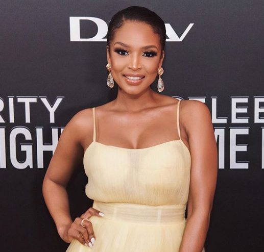 Checkout Ayanda Thabethe's amazing moments in New York