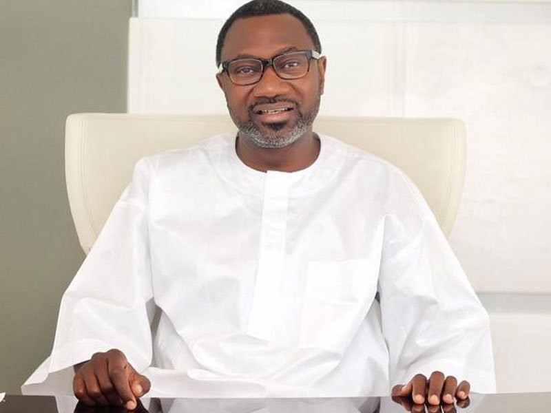 Billionaire businessman, Femi Otedola, listed as the highest individual donor to Lagos state Security Trust Fund with N80m