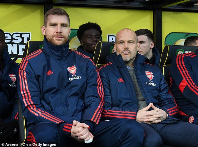 Caretaker manager Freddie Ljungberg says Arsenal can still '100 % make top four' after Arsenal suffer disappointing 2-2 draw with Norwich