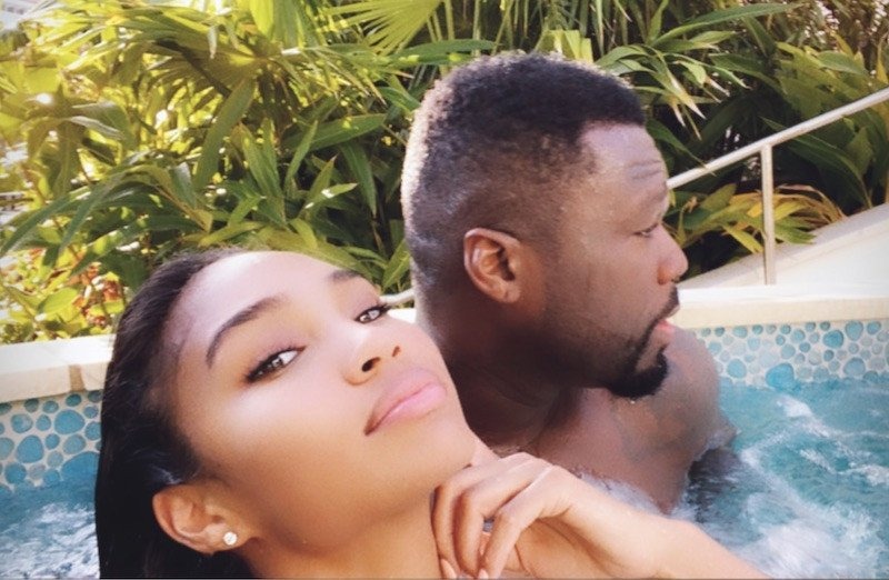 50 Cent and girlfriend Jamira Haines on vacation in the Bahamas (Photos)