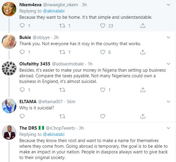 Lawmaker, Akin Alabi's tweet faulting Nigerians in the diaspora who return home to set up businesses sparks debate