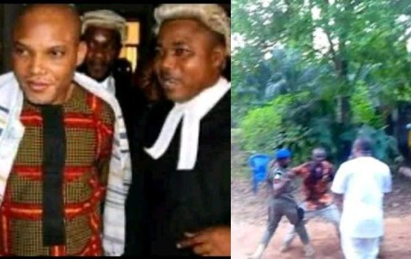 Two allegedly feared dead as Police invade Nnamdi Kanu's lawyer's home