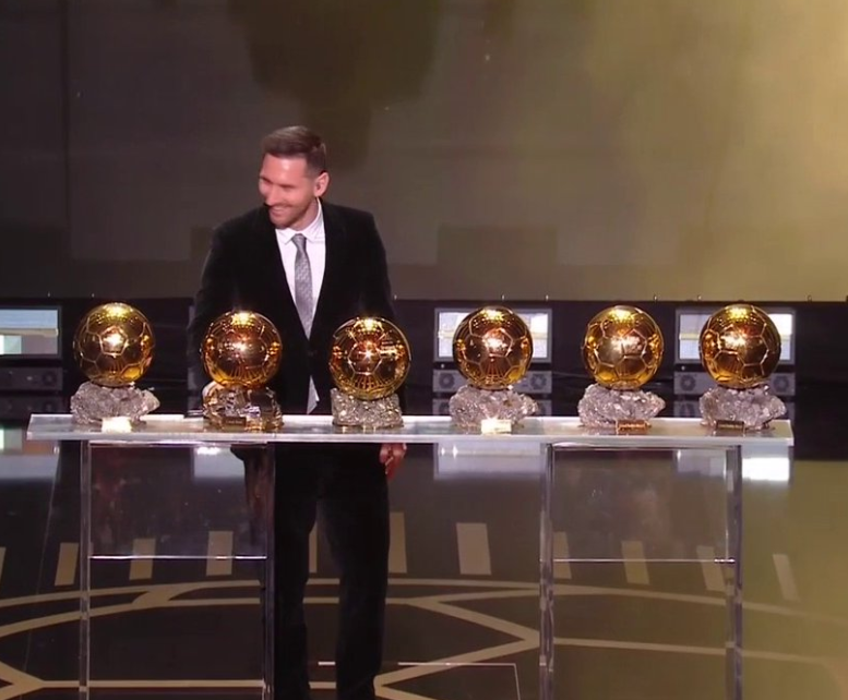 Lionel Messi wins sixth Ballon d'Or as he breaks ties with his arch-rival, Cristiano Ronaldo