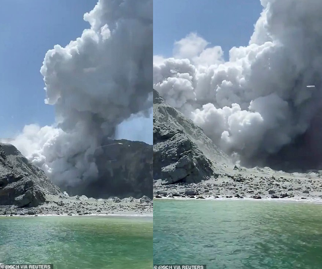 At least 5 dead and dozens injured or missing after volcano erupts near New Zealand