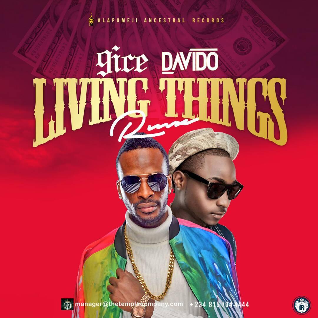 DOWNLOAD: 9ice ft. Davido – Living Things (Remix) mp3