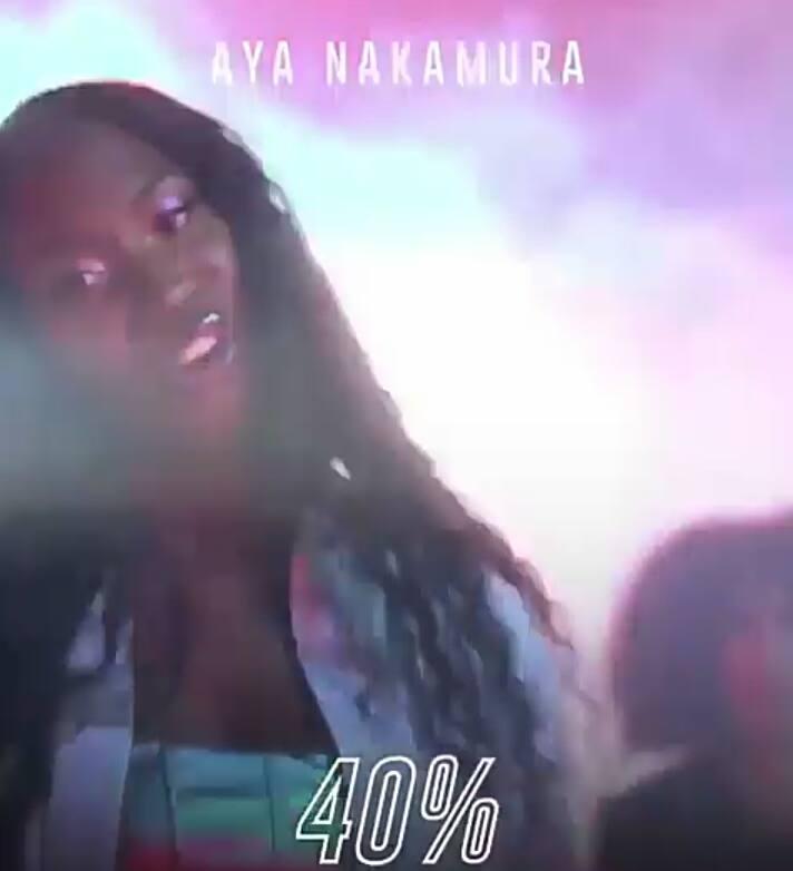 DOWNLOAD: Aya Nakamura – 40% (mp3)
