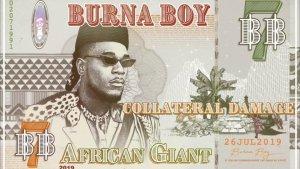 Download Instrumental: Burna Boy – Collateral Damage