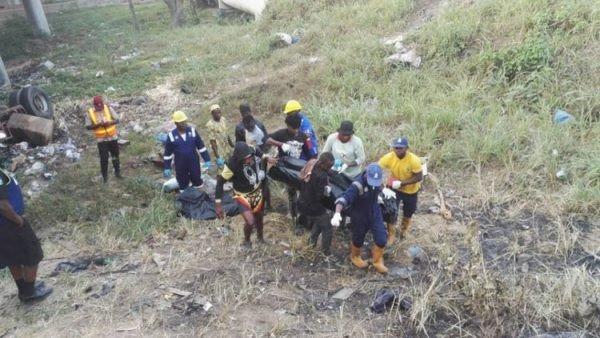Two killed in Otedola Bridge accident (photos)