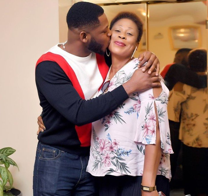 Frodd shows off his mum and showers her with love on her 50th birthday