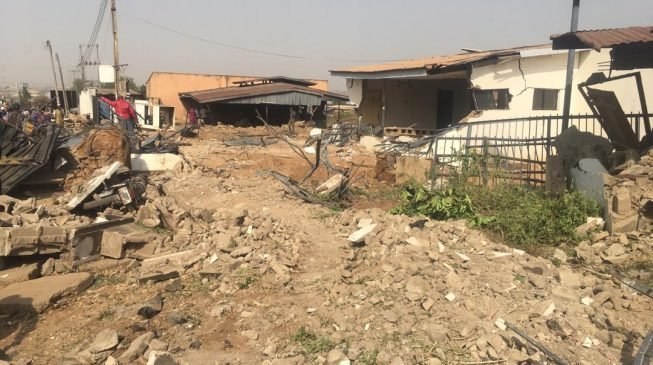 Court halts further demolition of Saraki's property