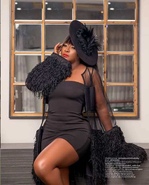 'Just look at the perfection and beauty of God's work' – Ini Edo says as she flaunts her banging body amidst plastic surgery rumours