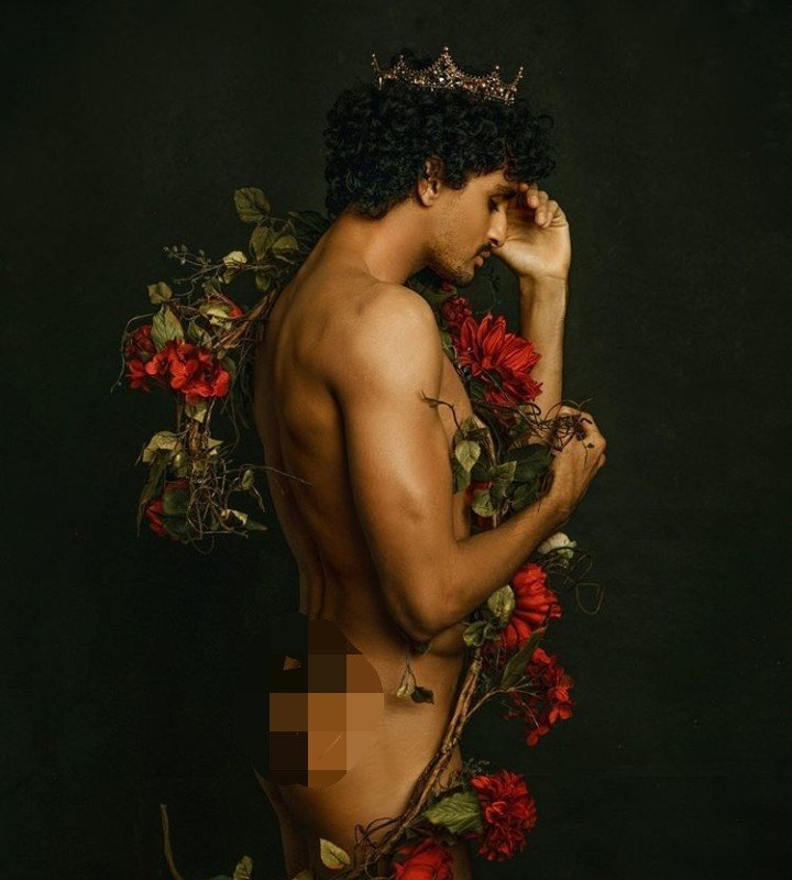 Big Brother Africa's Bassey goes naked in new birthday photo (+18)