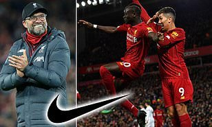 Liverpool announce record £80m per year jersey deal with Nike, eclipsing Manchester United's adidas contract