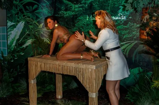 Madame Tussauds unveils new wax work of Nicki Minaj but people are not impressed