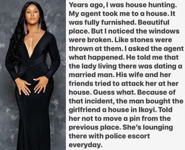 Nigerian woman leads her friends to attack her husband's side chic, but what her husband did afterwards will leave you in shock