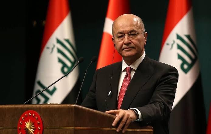 Iraq's President, Barhem Saleh 'denounces' Iran missile strikes