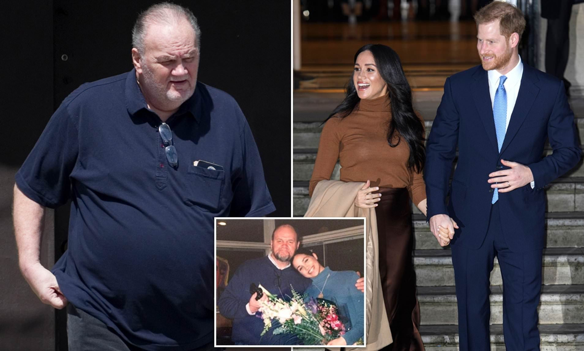 'I'll just simply say I'm disappointed': Meghan's estranged father Thomas Markle reacts to news his daughter and Prince Harry are quitting the royal family