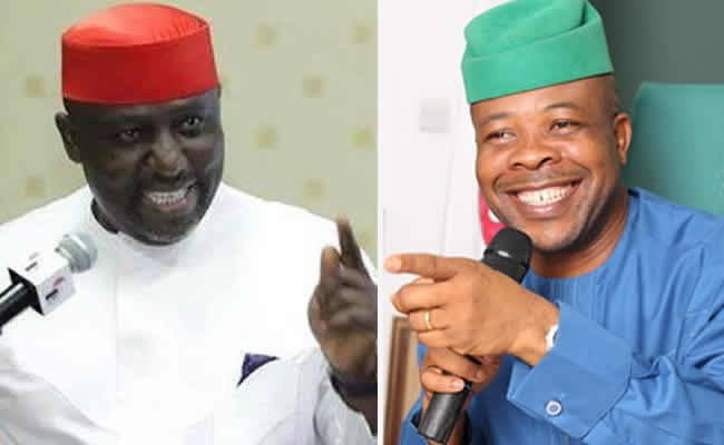 Ihedioha's administration only exists on the internet – Okorocha reacts to alleged diversion of N6bn ISOPADEC fund