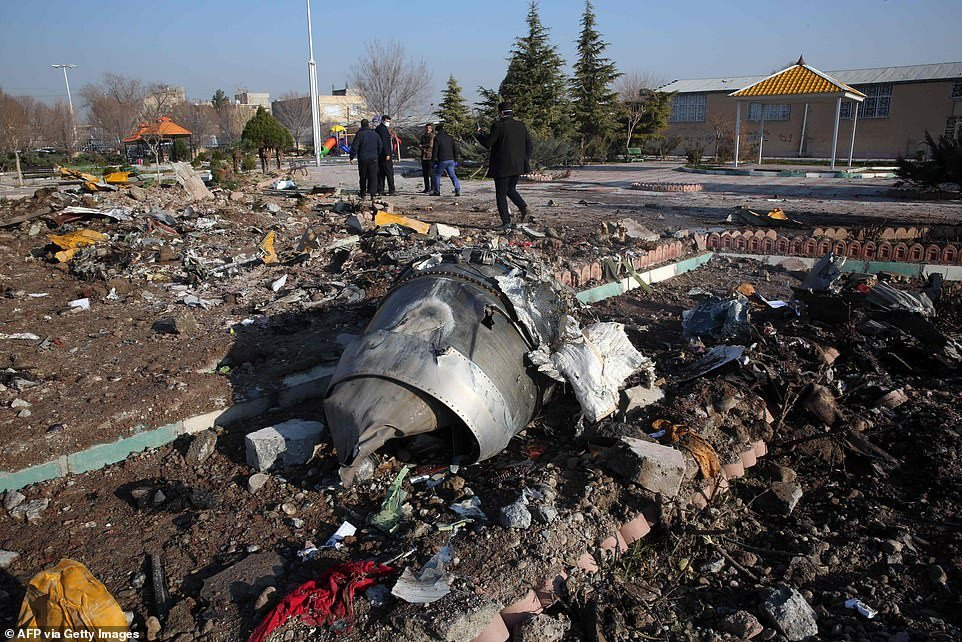 Ukrainian airplane which crashed was shot down by Iranian anti-aircraft missile – Pentagon and US Intelligence officials