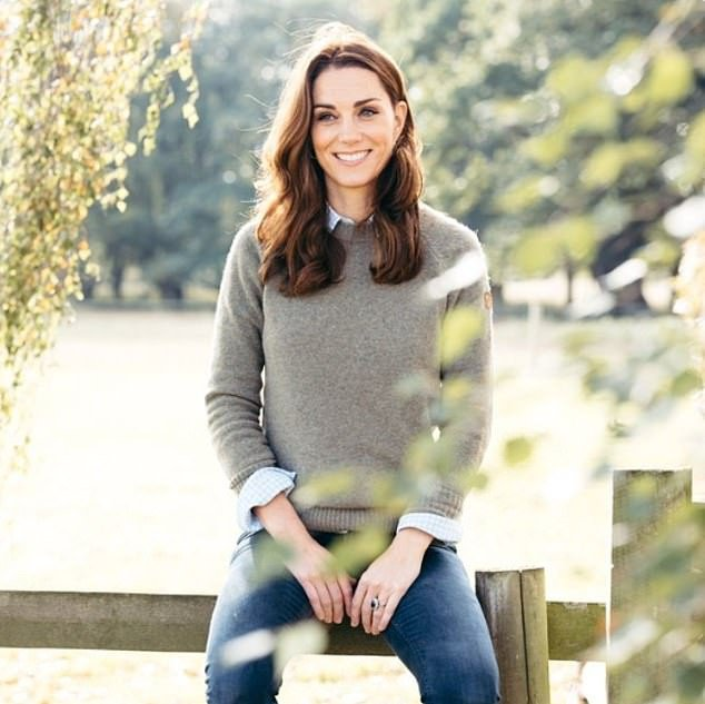 Kensington Palace releases new portrait of Kate Middleton on her 38th birthday amid royal crisis over Prince Harry and Meghan Markle stepping down