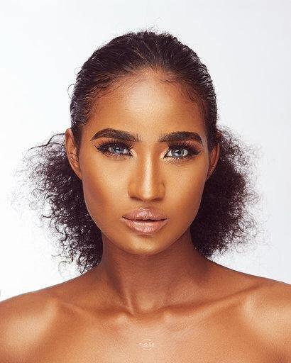 Anita Ogbobine Most Beautiful Melanin Girl in Nigeria World shares new stunning photos