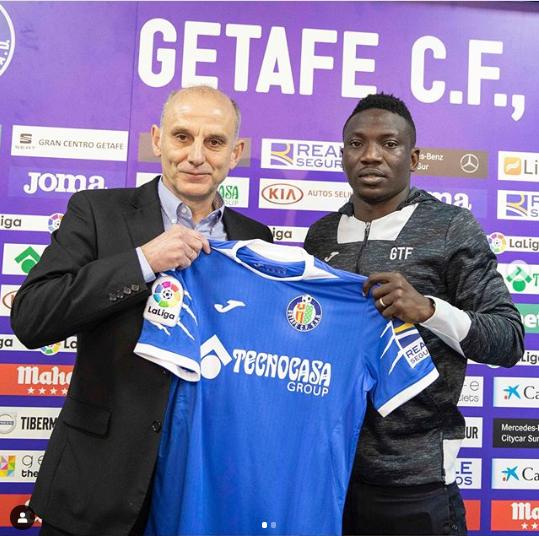 Super Eagles star Oghenekaro Etebo joins Getafe on loan (photos)