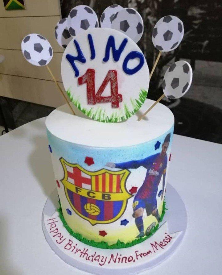 Sunmbo Adeoye celebrates her first son with Tuface, Nino Idibia, as he turns 14