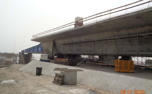 Julius Berger shares new photos of Second Niger bridge