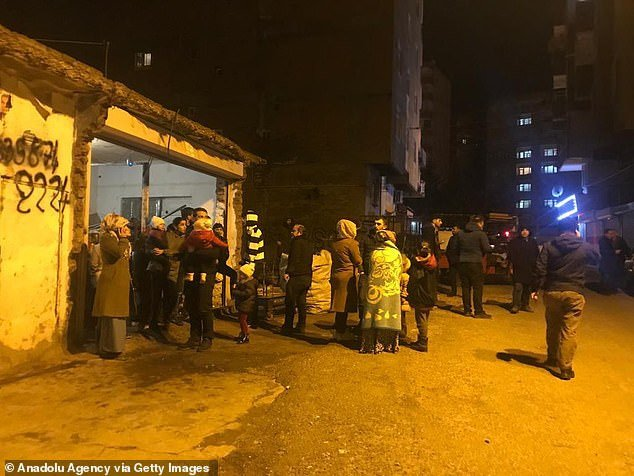 Four dead after earthquake with 6.8 magnitude hits Turkey